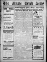 The Maple Creek News May 31, 1917