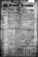 The Tisdale Recorder September 27, 1917