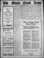 The Maple Creek News November 1, 1917