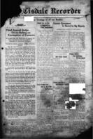 The Tisdale Recorder December 20, 1917