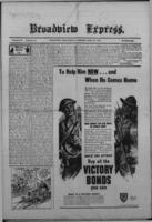 Broadview Express April 29, 1943