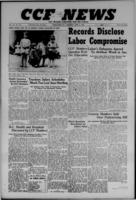 CCF News for British Columbia and the Yukon April 4, 1946