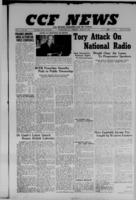 CCF News for British Columbia and the Yukon April 24, 1947