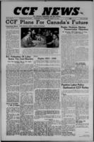 CCF News for British Columbia and the Yukon August 15, 1946