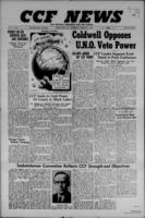 CCF News for British Columbia and the Yukon August 8, 1946
