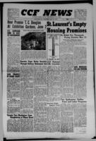 CCF News for British Columbia and the Yukon May 25, 1949