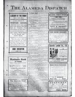 The Alameda Dispatch October 9, 1914