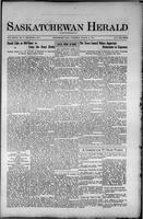 Saskatchewan Herald March 18, 1915