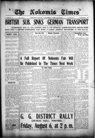 The Nokomis Times August 5, 1915