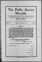 The Public Service Monthly October 1915