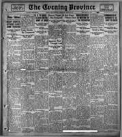 The Evening Province  March 15, 1916