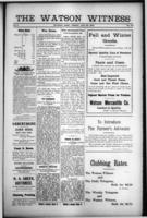 The Watson Witness August 25, 1916