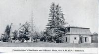 Commissioner's Residence and Officers' Mess, Old N.W.M.P.--Battleford