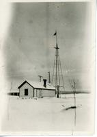 The Old Windmill at Battleford 1909