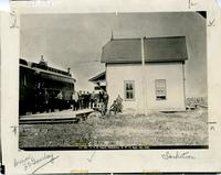 C.P.R. Depot, Saskatoon, N.W.T., Sept. 7th, 1891