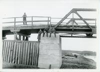 Battleford Bridge Construction