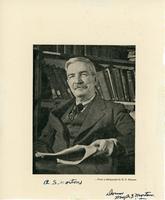 Arthur Silver Morton, professor of history and archivist, University of Saskatchewan, Saskatoon, n.d.