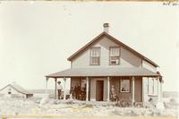 [N.W.M.P. Detachment, Onion Lake, N.W.T., 1900]