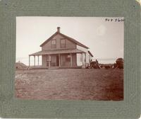 [N.W.M.P. Barracks, Onion Lake, N.W.T.]