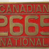 Canadian 2665 National [number board]