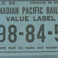 CPR Value Label