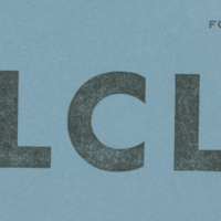 [LCL ticket]