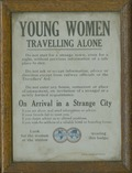 Young Women Travelling Alone