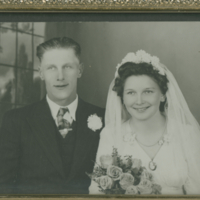 Elsie ane Cyril Mayo - Married June 6, 1945