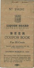 Liquor Board Saskatchewan Beer Coupon Book
