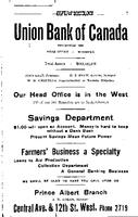 Henderson's Prince Albert City Directory 1919