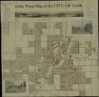 The Saturday Press Map of the City of Saskatoon