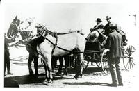 "Issac Barr leaving Saskatoon in April of 1903 for the ""Promised Land"" of Lloydminster"