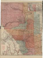 [Pull-out maps of Saskatchewan, Alberta, Manitoba and British Columbia]