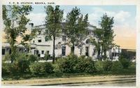 C.P.R. Station, Regina, Sask.
