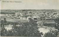 Bird's Eye View of Saskatoon