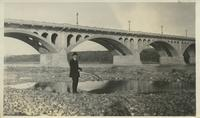 "[""Fishing"" on the riverbank)"