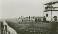 Indian pony races at the track