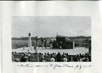 Another scene on the Grand Stand July 1927