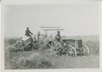 Early power driven farm implement