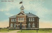 Public School, Manor, Sask.