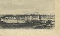 """CNR Bridge over the Saskatchewan River at North Battleford"""