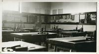 [Wood shop classroom at Bedford Road Collegiate]