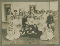 [Battleford school children or Sunday School children - early 1900's]