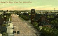 Bird's Eye View, Moose Jaw, looking East.