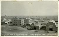 Bird's Eye View of Gravelbourg, Sask.