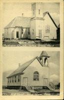 Methodist Church, Yellow Grass, Sask.; Church of Christ, Yellow Grass, Sask.