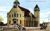 Town Hall & Theatre, Wolseley, Sask.