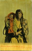 Blackfoot Squaw and Papoose, N.W.T.