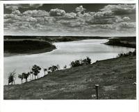 Looking downstream toward Batoche