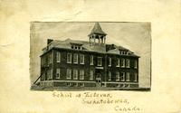School at Estevan, Saskatchewan, Canada.